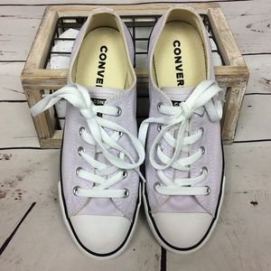 NWOT [Converse] All Star Dainty Ox Lilac Sneakers